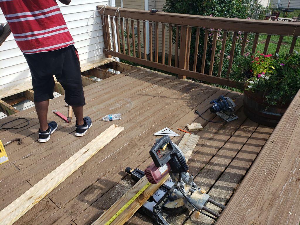 Deck Rehab