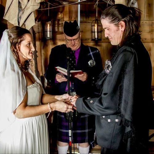 Semi-formal Scottish Wedding