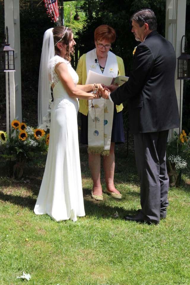 Wedding on a Rescue Animal Farm