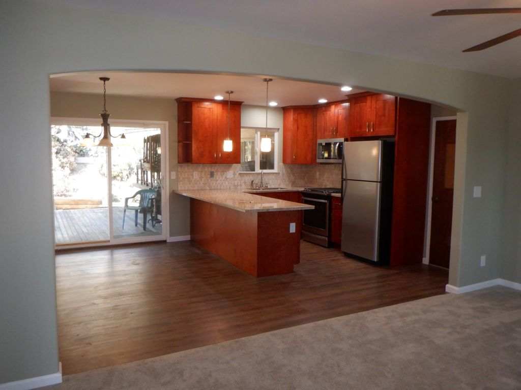 Open Kitchen - Remove Baring wall