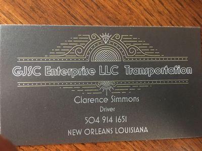 Avatar for GJSC Enterprise LLC Transportation Gretna, LA Thumbtack