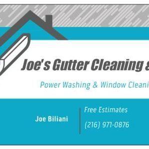Joe's Gutter Cleaning & Repair