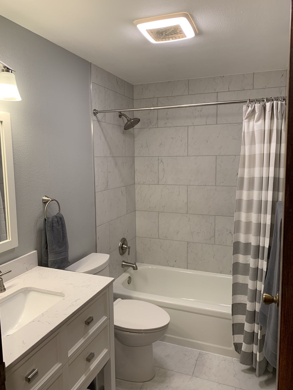 Small Hall Bath completed