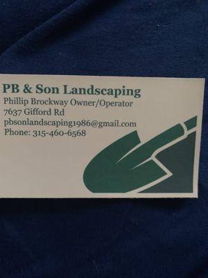 Avatar for PB & Son Landscaping LLC Rome, NY Thumbtack