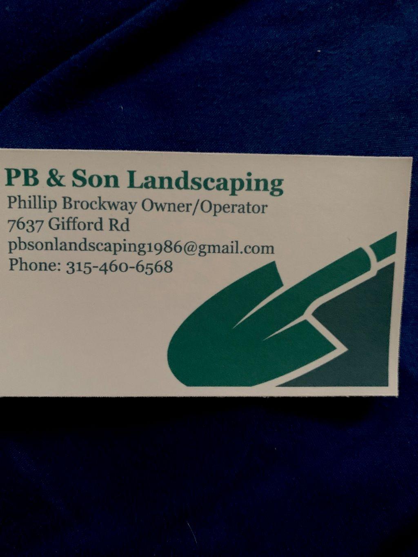PB & Son Landscaping LLC