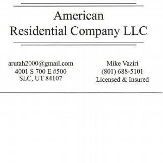 American Residential Co Llc