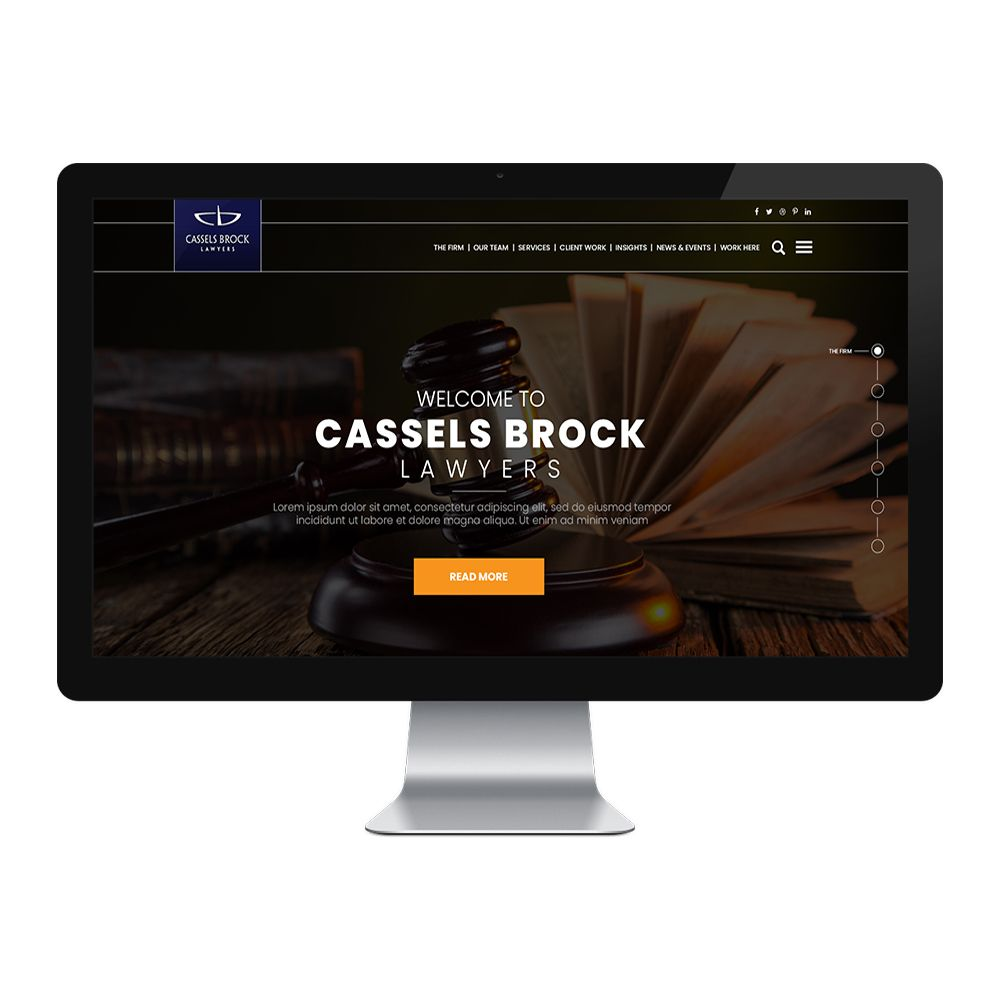 Law-Firm Website