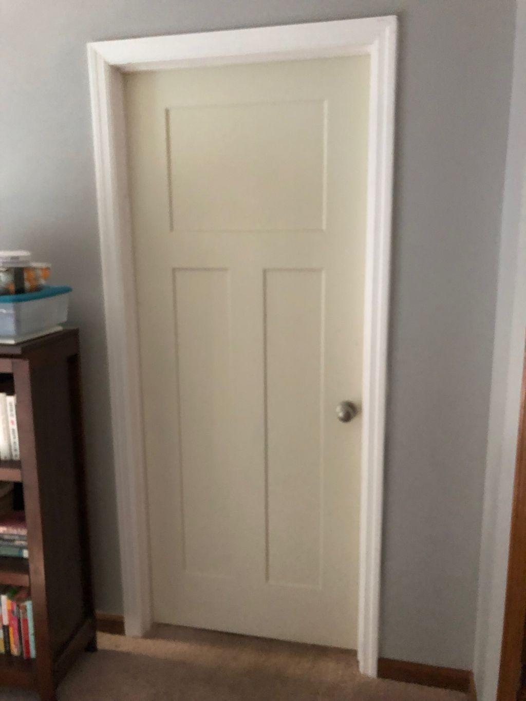 Replace bedroom door