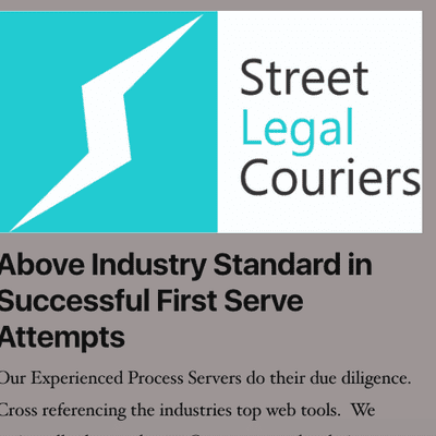 Avatar for Street Legal Couriers