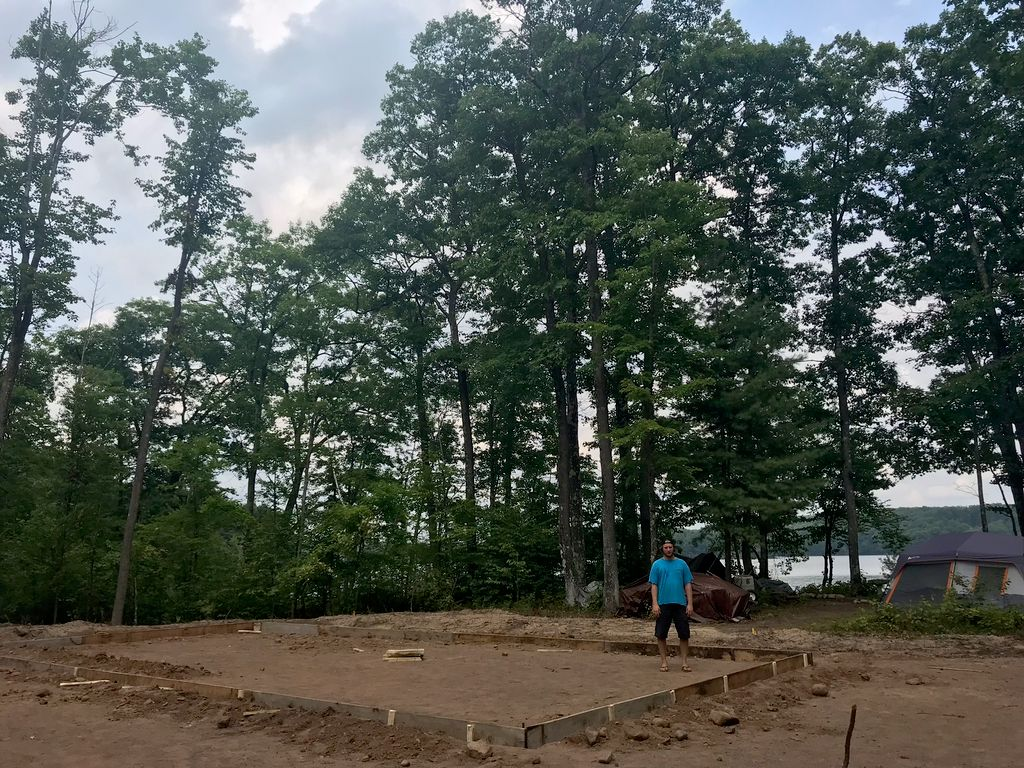 Lake House Build