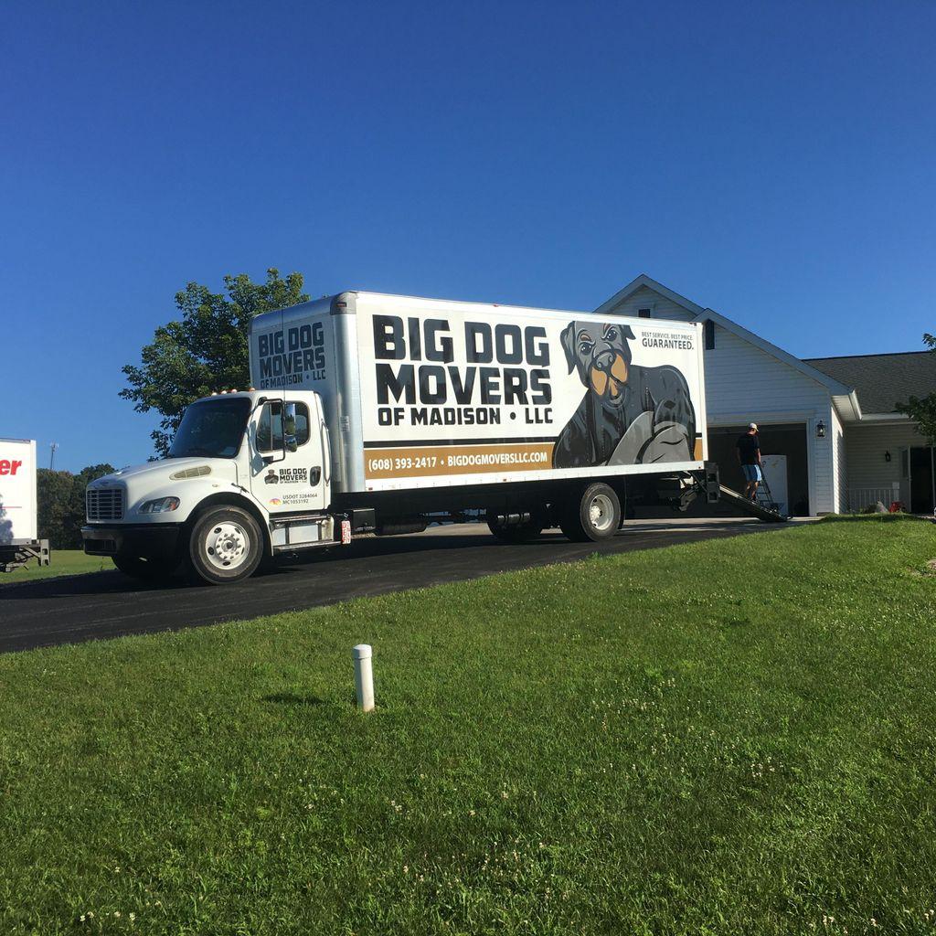 Big Dog Movers Of Madison LLC