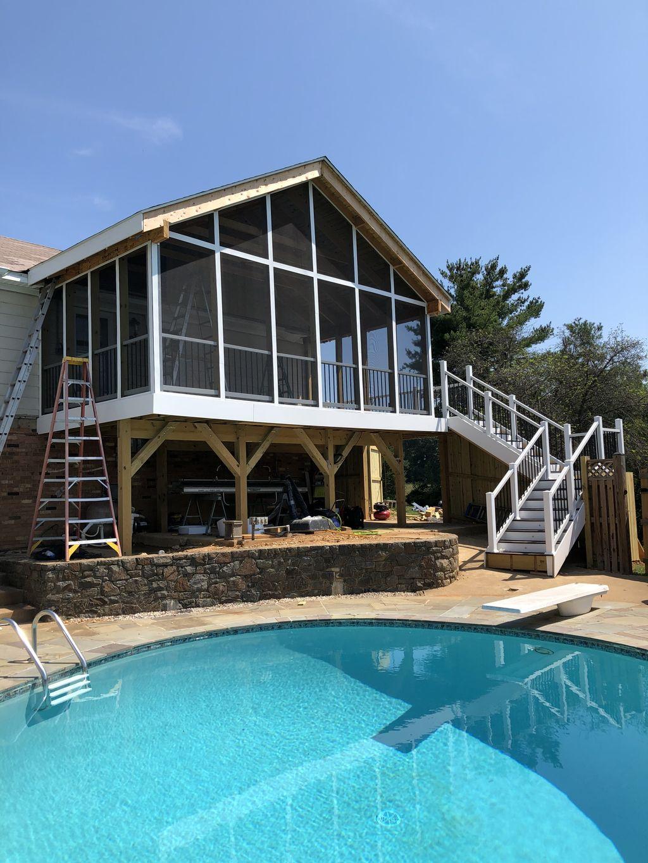 Deck porch