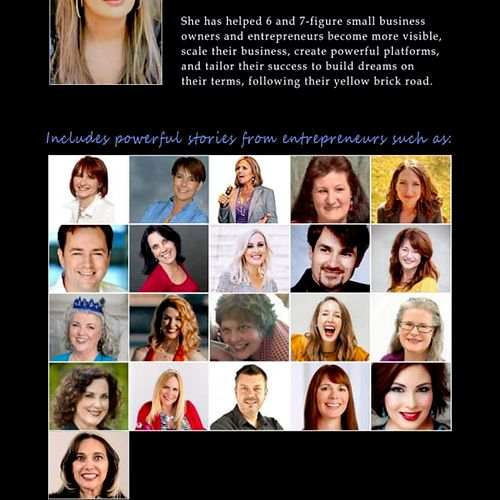 Look...there I am...second row second from the left...with other awesome authors in the new book about overcoming struggle!