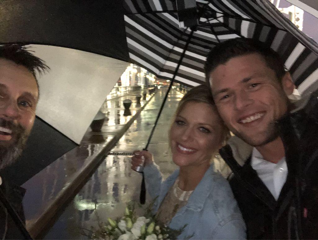 Wedding on the streets of Nashville