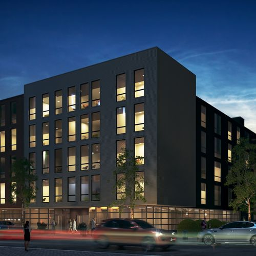 60-unit Mixed-use Building
