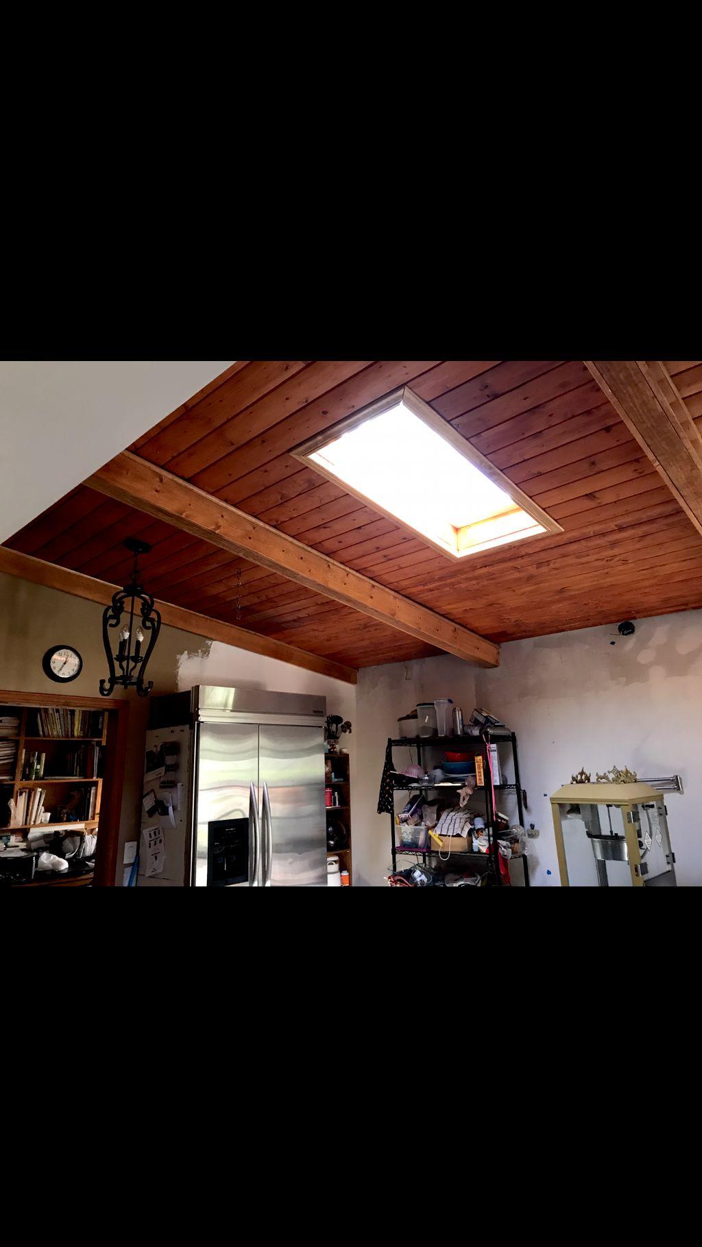 Kitchen remodel , cabin  bedroom facelift