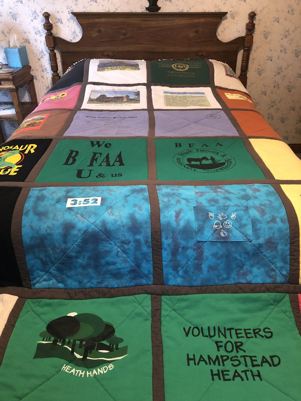 T-shirt Memory Rag Quilt