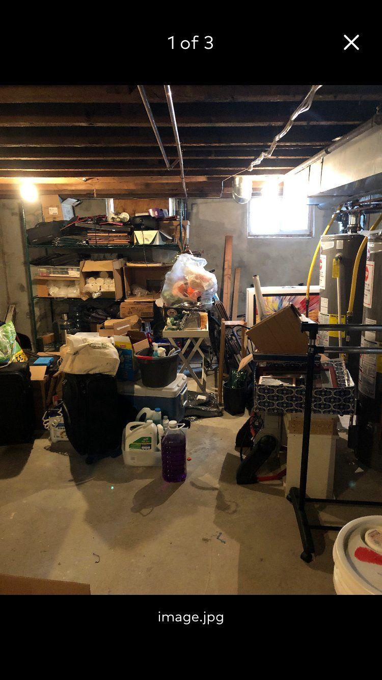 Basement Cleanout & Organize