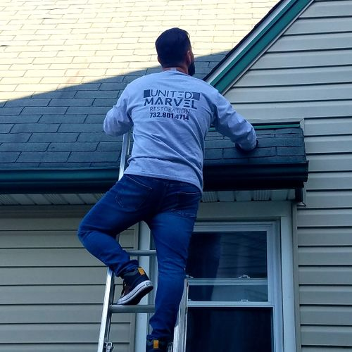 Roof shingle inspection