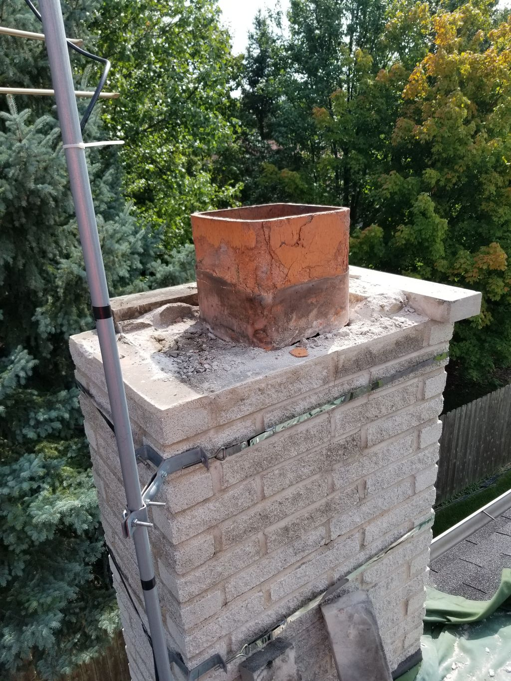 Chimney Crown Rebuild