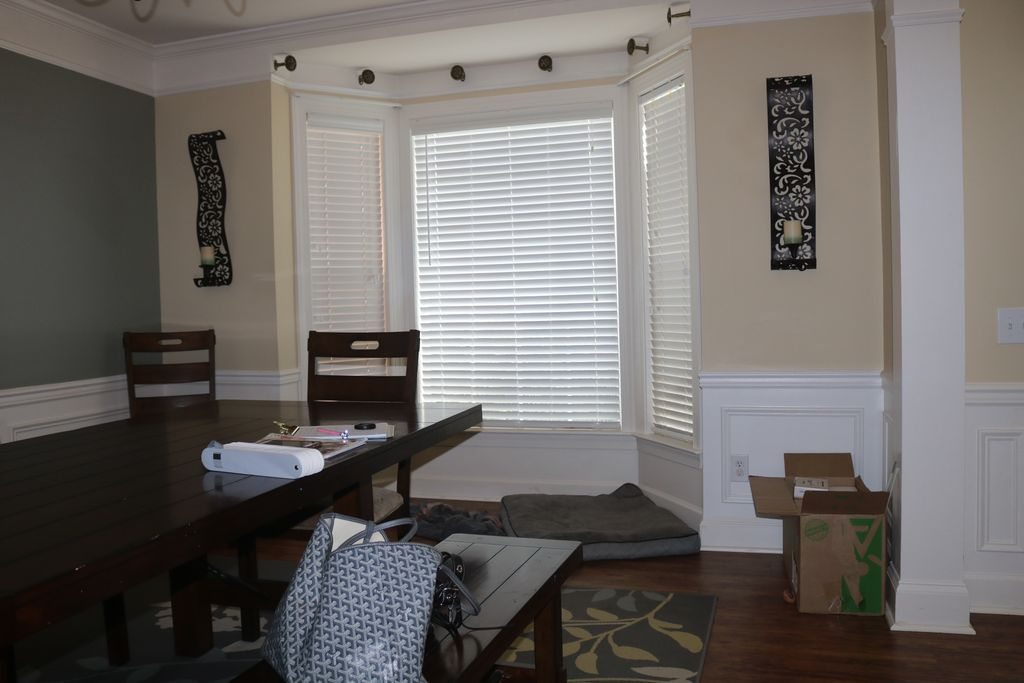 Chilvary Dr Dining Room Before & After