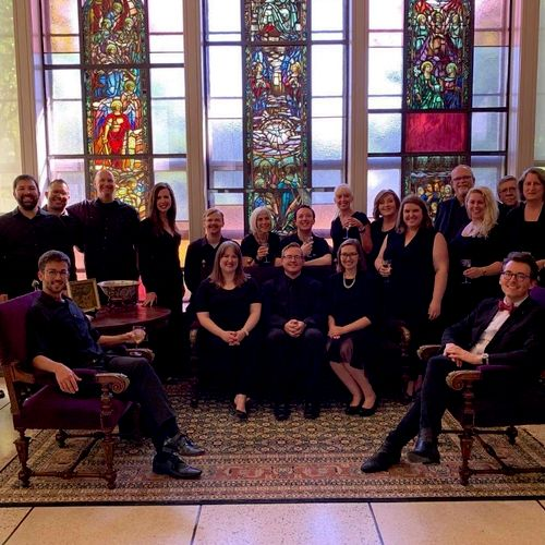 Singers on a recital of English choral music