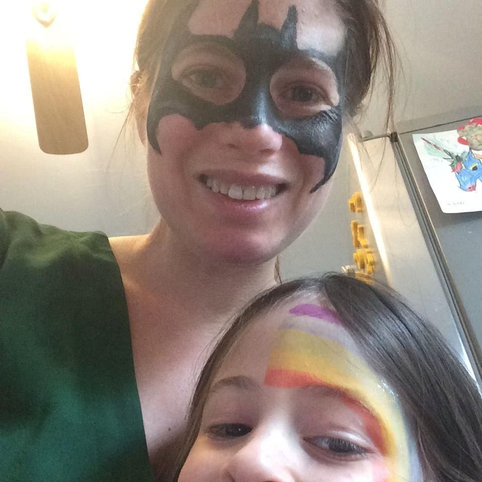 Local Color Face Painting