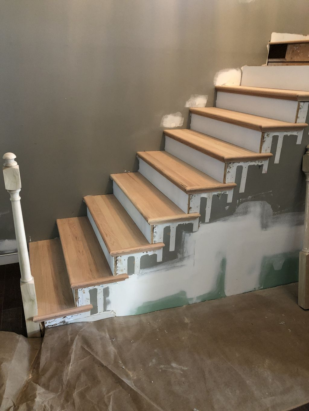 Railing & Stair Makeover
