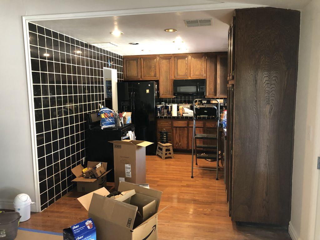 Fully kitchen remodeling