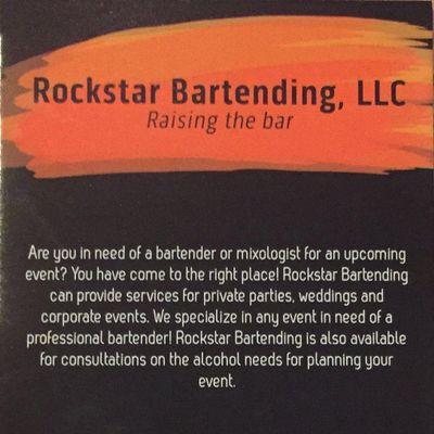 Avatar for Rockstar Bartending State College, PA Thumbtack