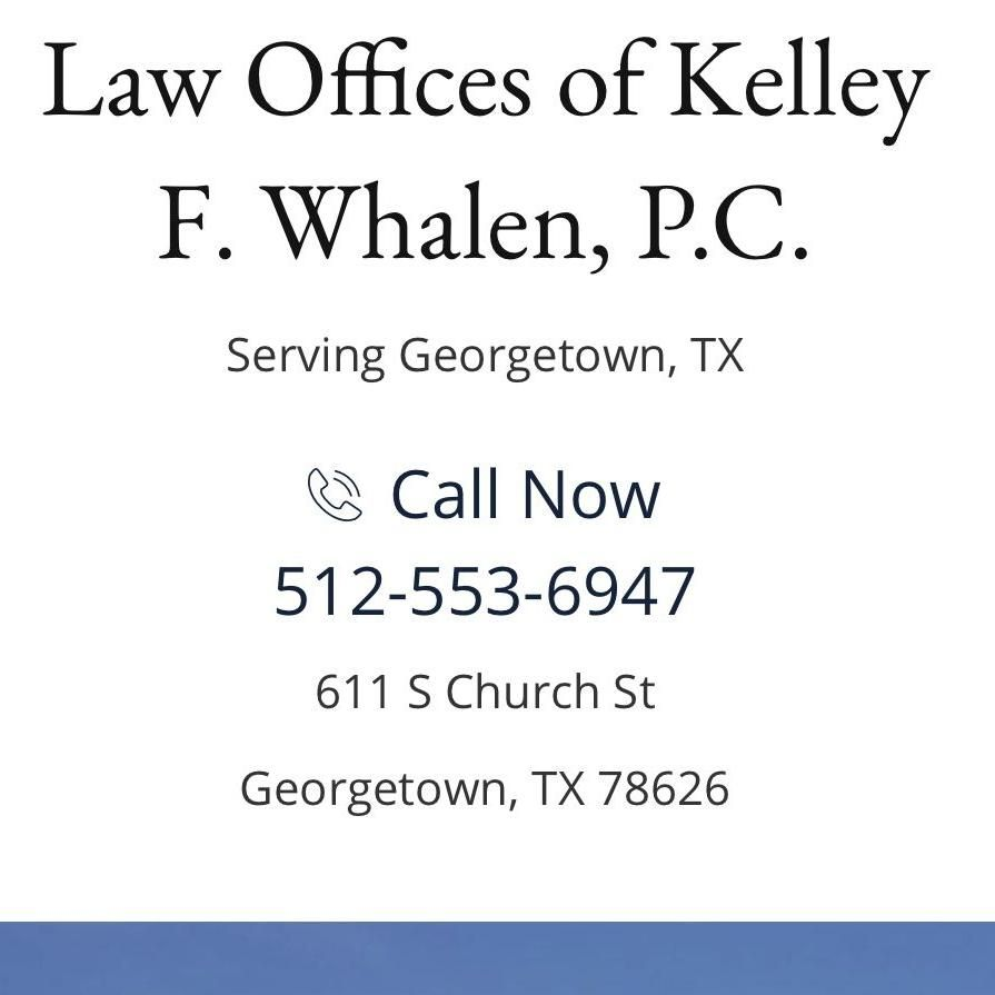 The Law Offices of Kelley F. Whalen