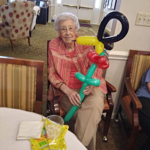 I also perform for Seniors in Nursing Homes!
