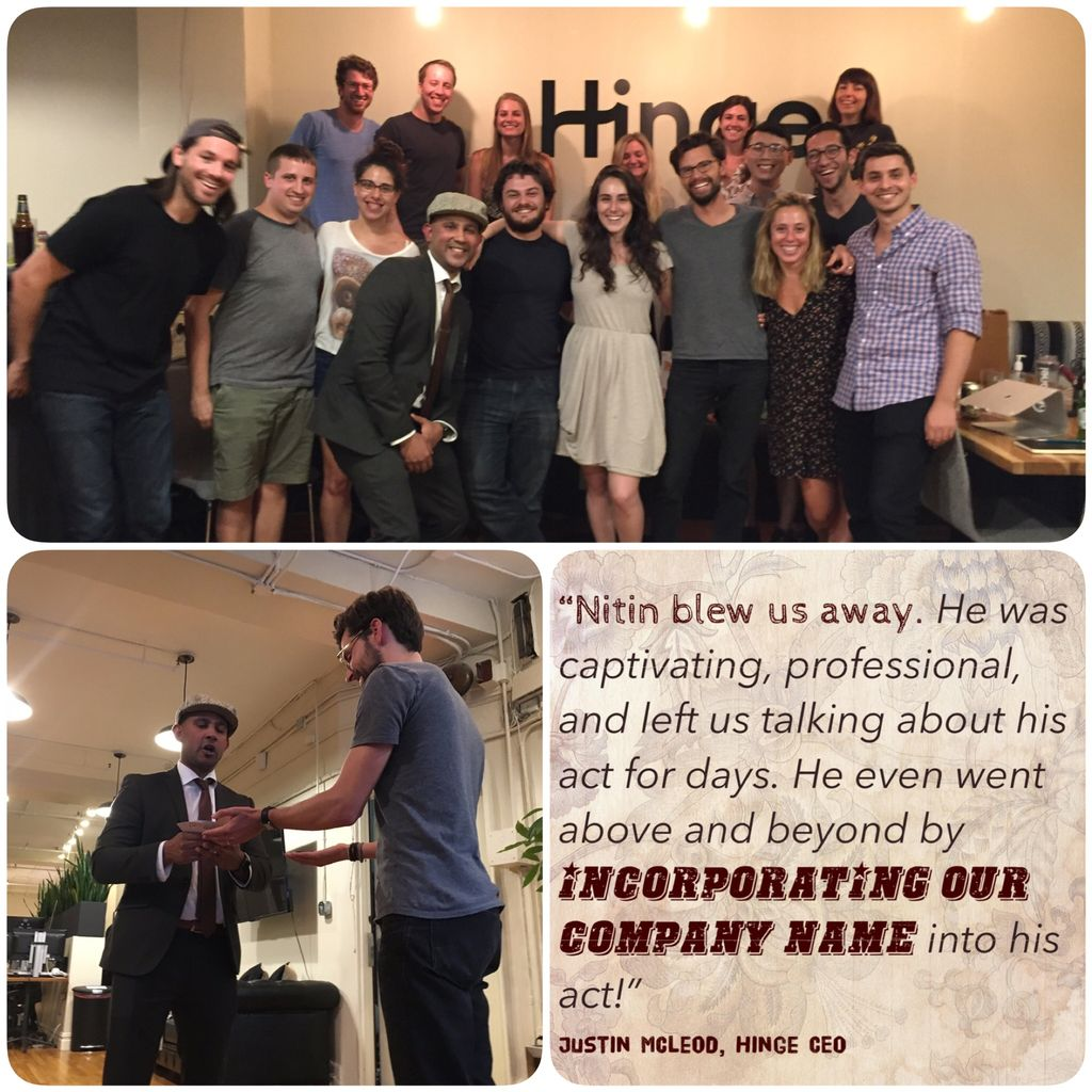 Hinge Corporate Event