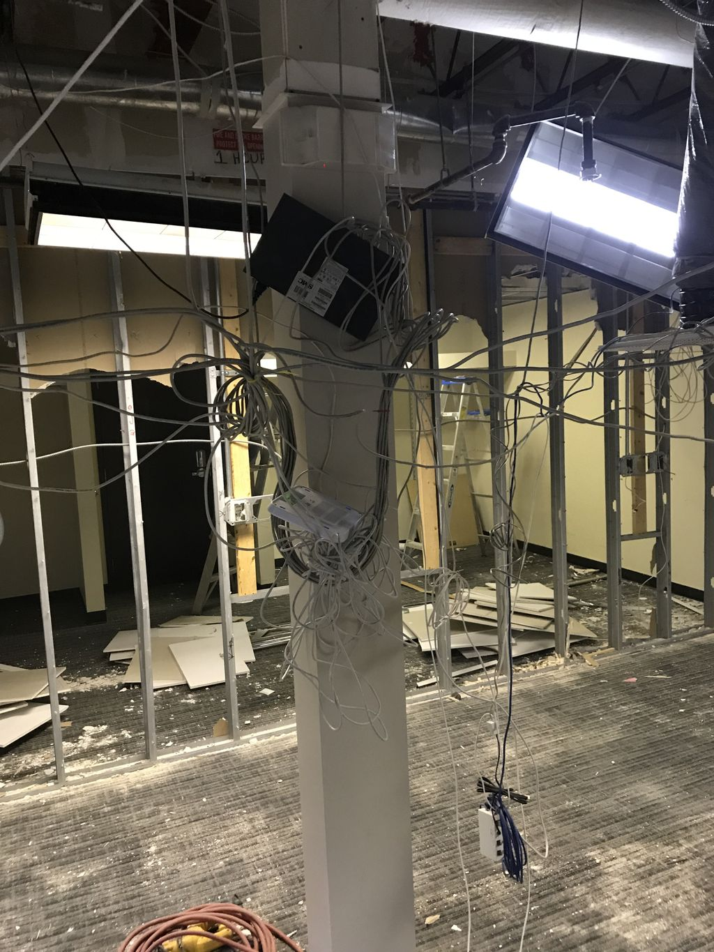 Bridal by Lori, Say Yes to the Dress first floor Renovation