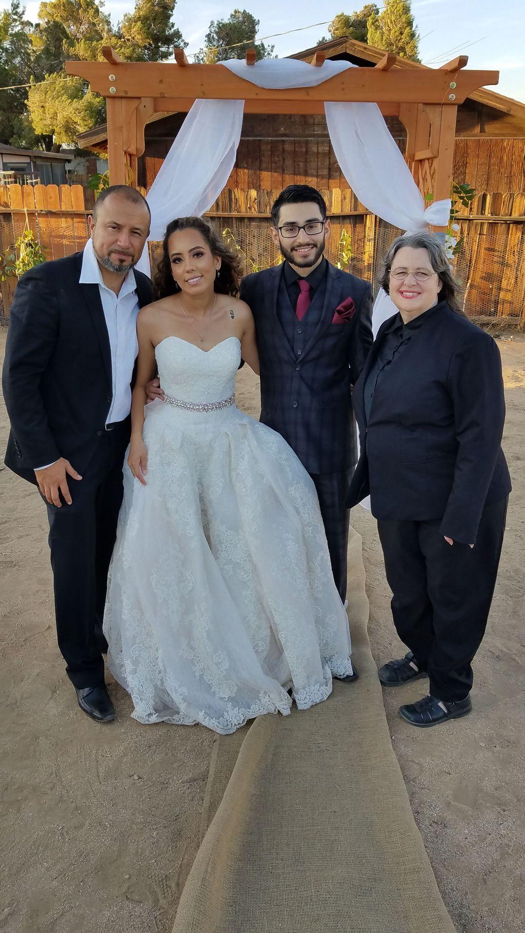 Outdoor Wedding Officiate