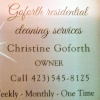 Avatar for Goforth residential cleaning services