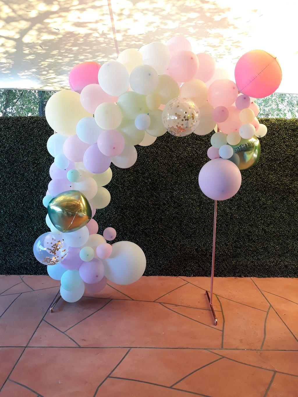 Pastel Baby Shower  Balloon Garland