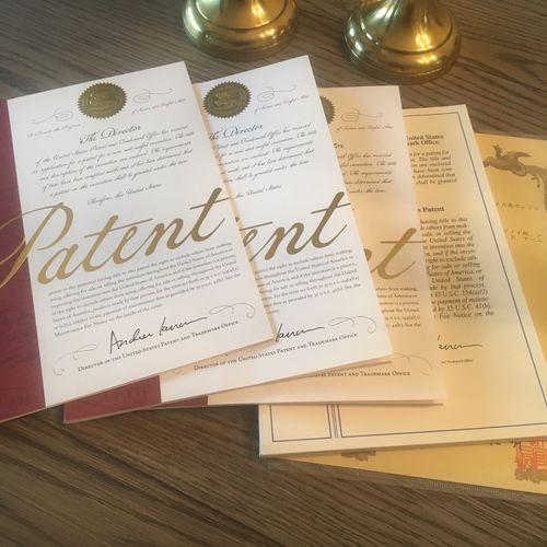 US & International Letters Patent