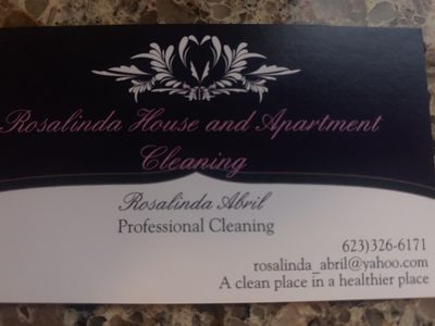 Avatar for Rosalinda House & Apartment Cleaning Maricopa, AZ Thumbtack