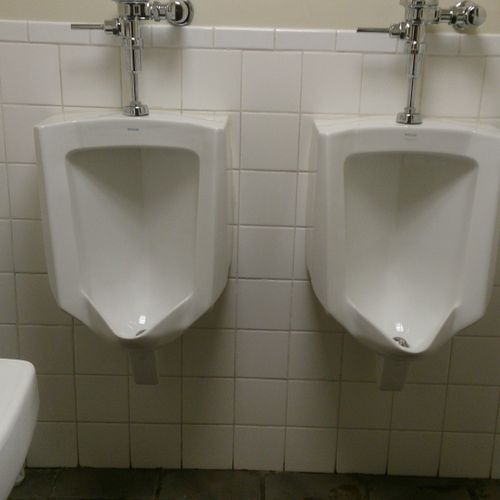 bathroom cleaning-urinals
