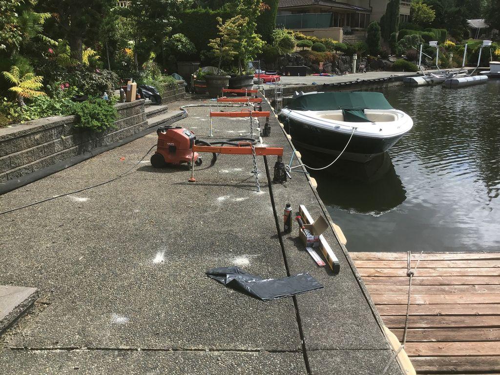 Concrete Dock Repair