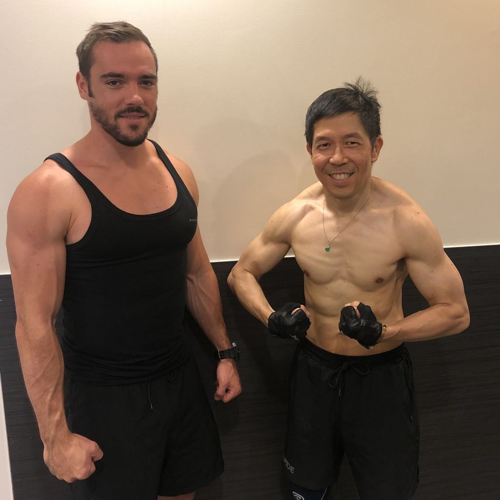 Dr Wong Transformation, 12 lbs of muscles