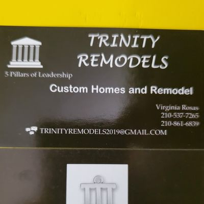 Avatar for Trinity Remodels San Antonio, TX Thumbtack