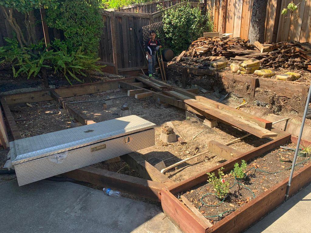 Deck Remodel Addition - Martinez 2019