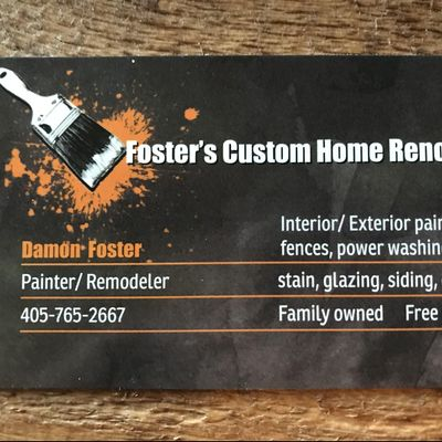 Avatar for Foster's Custom Home Renovations Newalla, OK Thumbtack