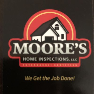 Avatar for Moore's Home Inspections
