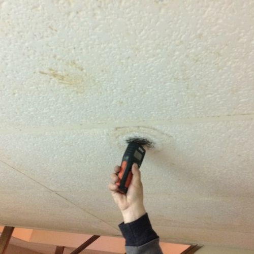 IF YOU SEE A STAIN ON YOUR WALLS OR CEILING THEN IT COULD BE MOLD RELATED
