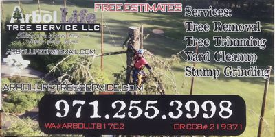 Avatar for Arbol Life Tree Service LLC Portland, OR Thumbtack