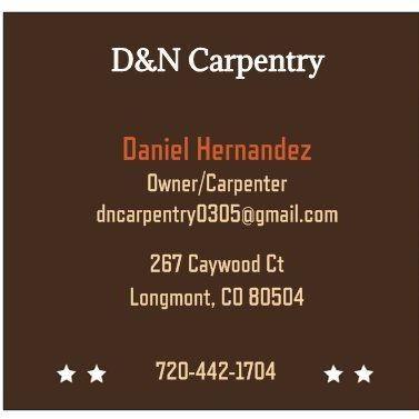 Avatar for D&N Carpentry Longmont, CO Thumbtack