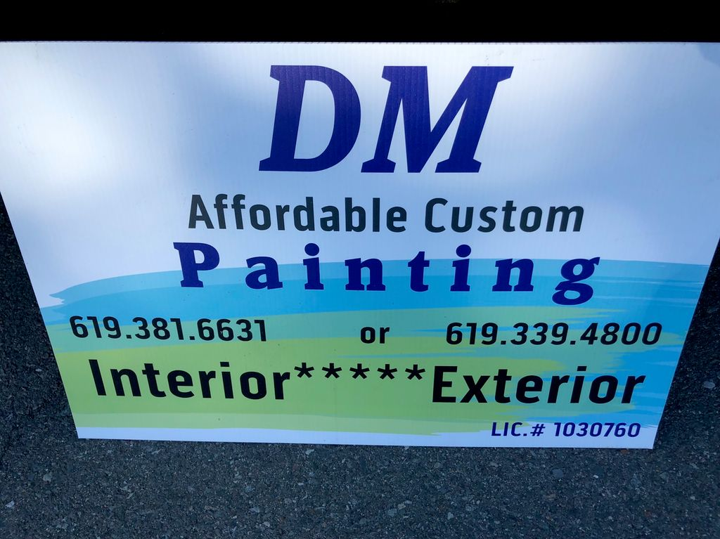 DM Affordable Custom Painting